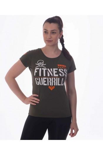 T-shirt IRONFIBRE- CF GUERRILLA  Woman Cross-Fit
