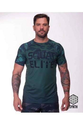 T-shirt IRONFIBRE- RAW STRENGHT green  –  Man Cross-Fit