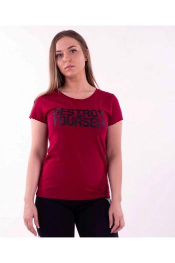T-shirt IRONFIBRE- Destroy yourself   Woman Cross-Fit