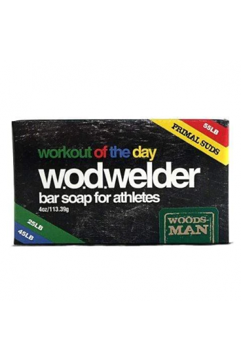 Natural Bar Soap - Woodsman W.O.D.WELDER Cross-Fit