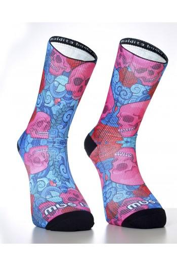 Sports socks SKULLROSES- MBS Cross-Fit