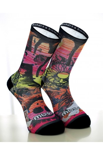 Sports socks KISS MY ASS- MBS Cross-Fit