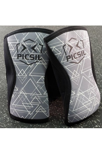 Knee Sleeves PicSil 5&7mm Gray Cross-Fit
