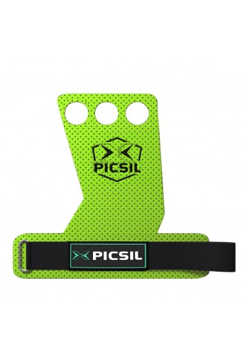 Hand Grips PicSil AzorGrips 3hole Green Cross-Fit