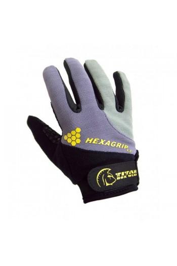 Gloves HEXAGRIP 2.0 (Black Steel) Titan Box Wear Cross-Fit