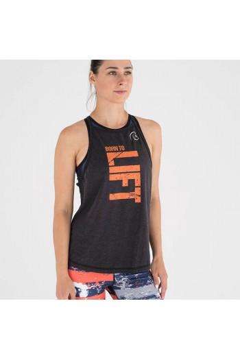 Дамски потник Ecoactive (Born To Lift Black/Orange) Titan Box Wear Cross-Fit