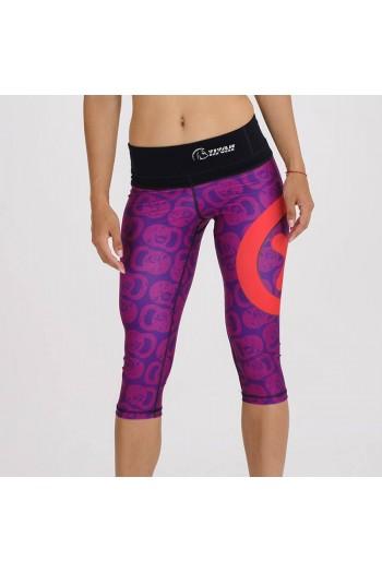 Xtamina 3/4 tights Kettlemania Purple Titan Box Wear Cross-Fit