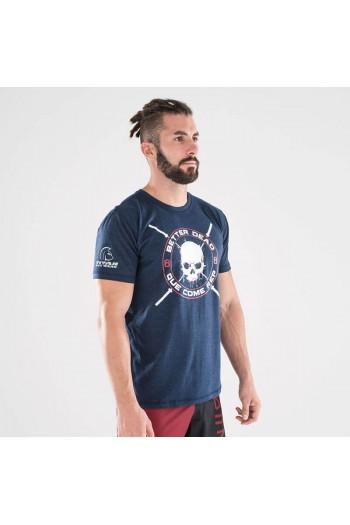 Ecoactive T-shirt (Integrity Navy/Crimson) Titan Box Wear Cross-Fit