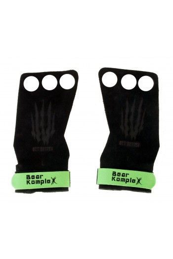 Грипове за ръце Bear KompleX 3 Отвора Зелен