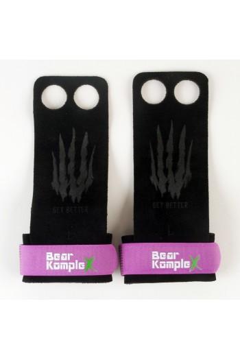 Hand Grips Bear KompleX 2 Hole-Purple Cross-Fit