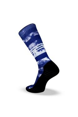 Спортни чорапи BLUE TIE DYE