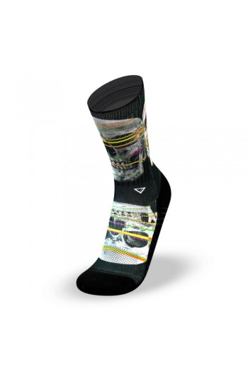 Sports socks X RAY SKULL-Lithe Cross-Fit